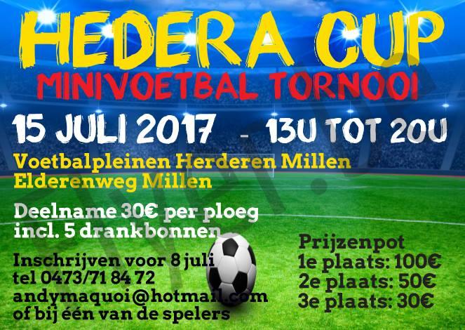 Hedra Cup Minivoetbal Tornooi At Elderenweg 2 3770 Riemst Belgie