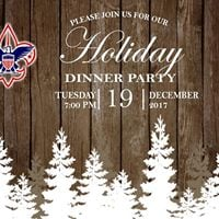 Troop &amp Crew 871 Holiday Dinner Party