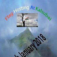 Flag Hosting at Kalsubai on 26th Jan