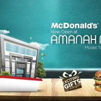 McDonalds Outlet Opening