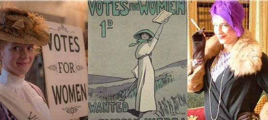 Votes for Women - and the Inspiring women who changed history