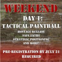 Military Weekend Day 1 Tactical Paintball