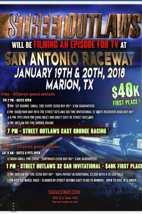Street Outlaws TV Filming Event