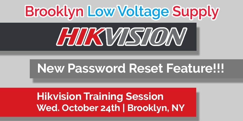 Hikvision Training Session (Nostrand - Brooklyn)
