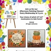 Afternoon Painting Classes