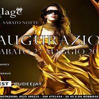 Village Discoclub La Grande Inaugurazione - Sabato 27 Maggio