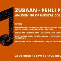 Zubaan  An Evening Of Musical Collaboration