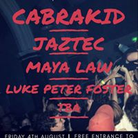 Cabrakid with support from Jaztec Maya Law Luke Peter Foster