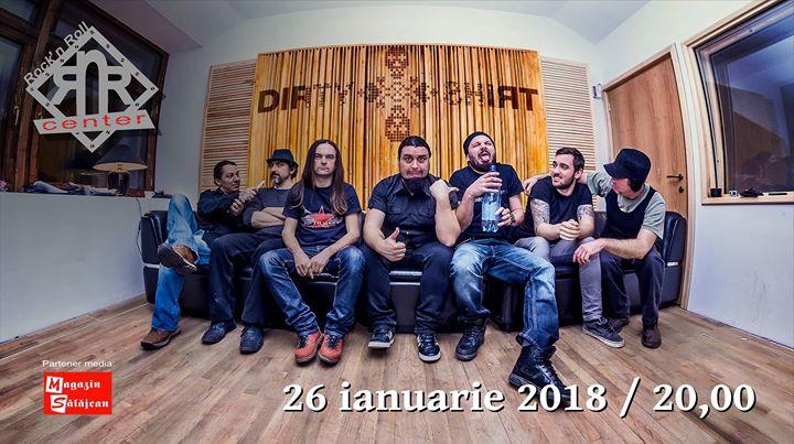 Concert Dirty Shirt  Rockn Roll Center Zalau