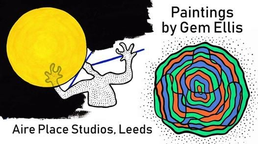 Exhibition Paintings by Gem Ellis