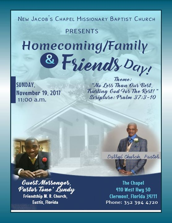 themes for family and friends day church program | just b ... |Themes For Family And Friends