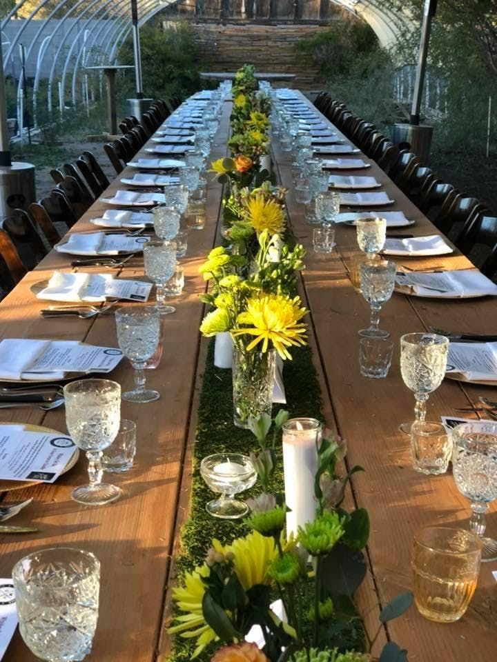 The Grace Farms Blue Zone Pop-Up Dinner with Arizona Winemaker James Callahan of Rune Wines Curated by Farmboy