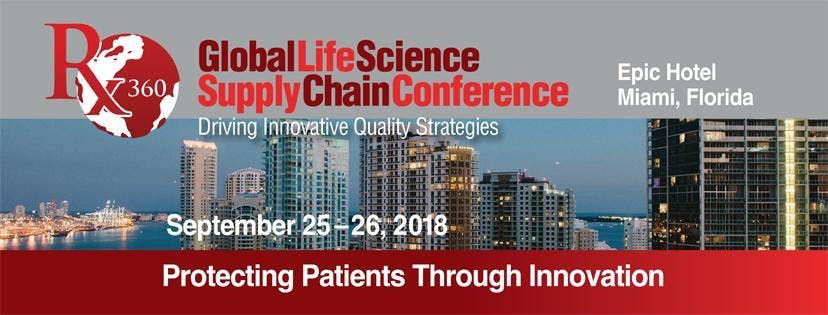 Rx-360 Global Life Science Supply Chain 2018 Conference