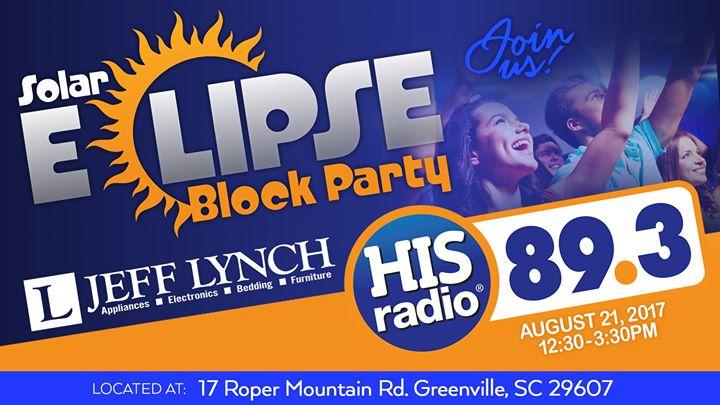 Solar Eclipse Block Party   Greenville