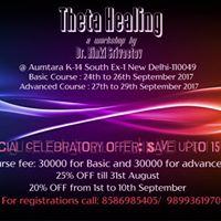 Theta Healing Seminar by Dr. Rinki Srivastav