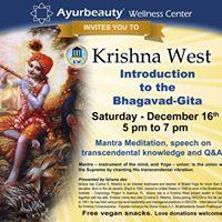Bhakti Yoga Introduction to the Bhagavad Gita.