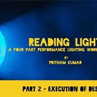 Reading Light (Level 2)  A Workshop by Pritham Kumar