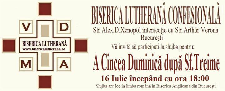 Slujba Lutheran Confesional A Cincea Duminic dup Sf.Treime