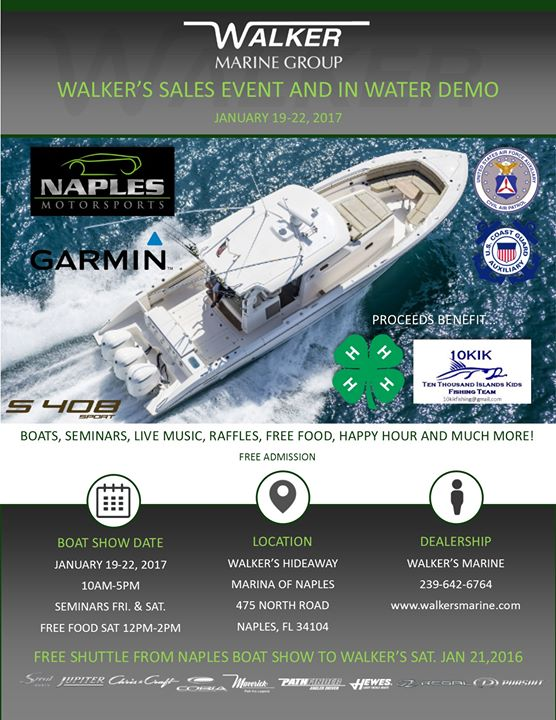 Walkers Sales Event and In Water Demo