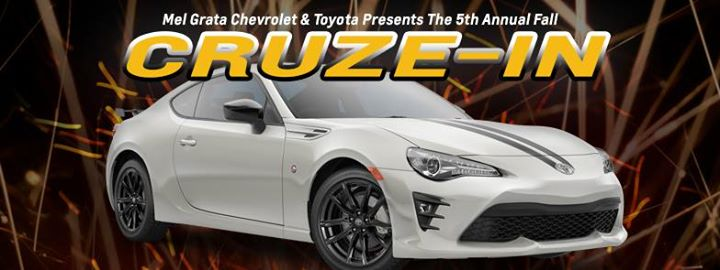 5th Annual Fall Cruze In At Mel Grata Toyota Hermitage