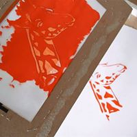 Afternoon Session Screenprinting Intro for Kids with Libby Dee