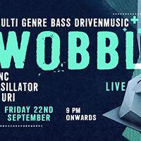 Wobble Live feat. FUNC DJ Uri and Mosillator  Bonobo Bandra