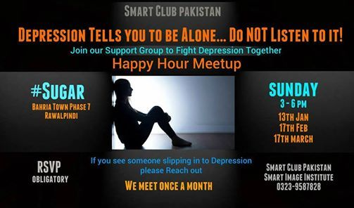 Social Meetup to Deal with Depression