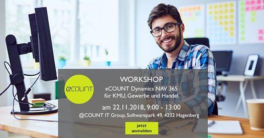 Business Software Workshop at COUNT IT Group, Hagenberg