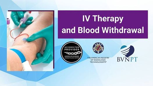 IV Therapy and Blood Withdrawal Certification in Los Angeles