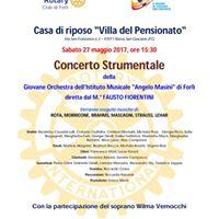 Concerto Casa di Riposo Villa del Pensionato Rocca San Casciano