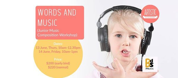 Words and Music Junior Music Composition Workshop