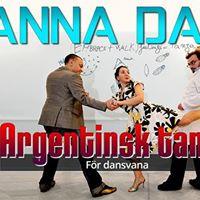 Wanna Dance helgkurs - Argentinsk tango fr vana dansare