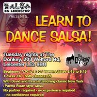 Salsa classes and free fiesta latina