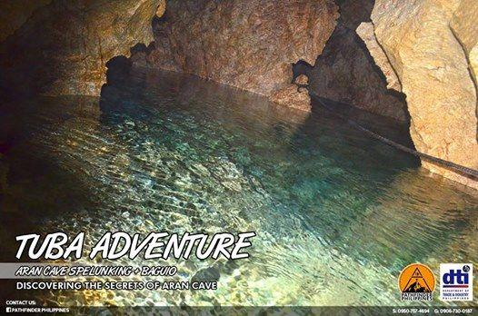 Tuba Adventure (Aran Cave Spelunking - Baguio)