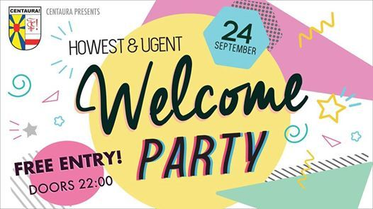 Howest & UGent Welcome Party