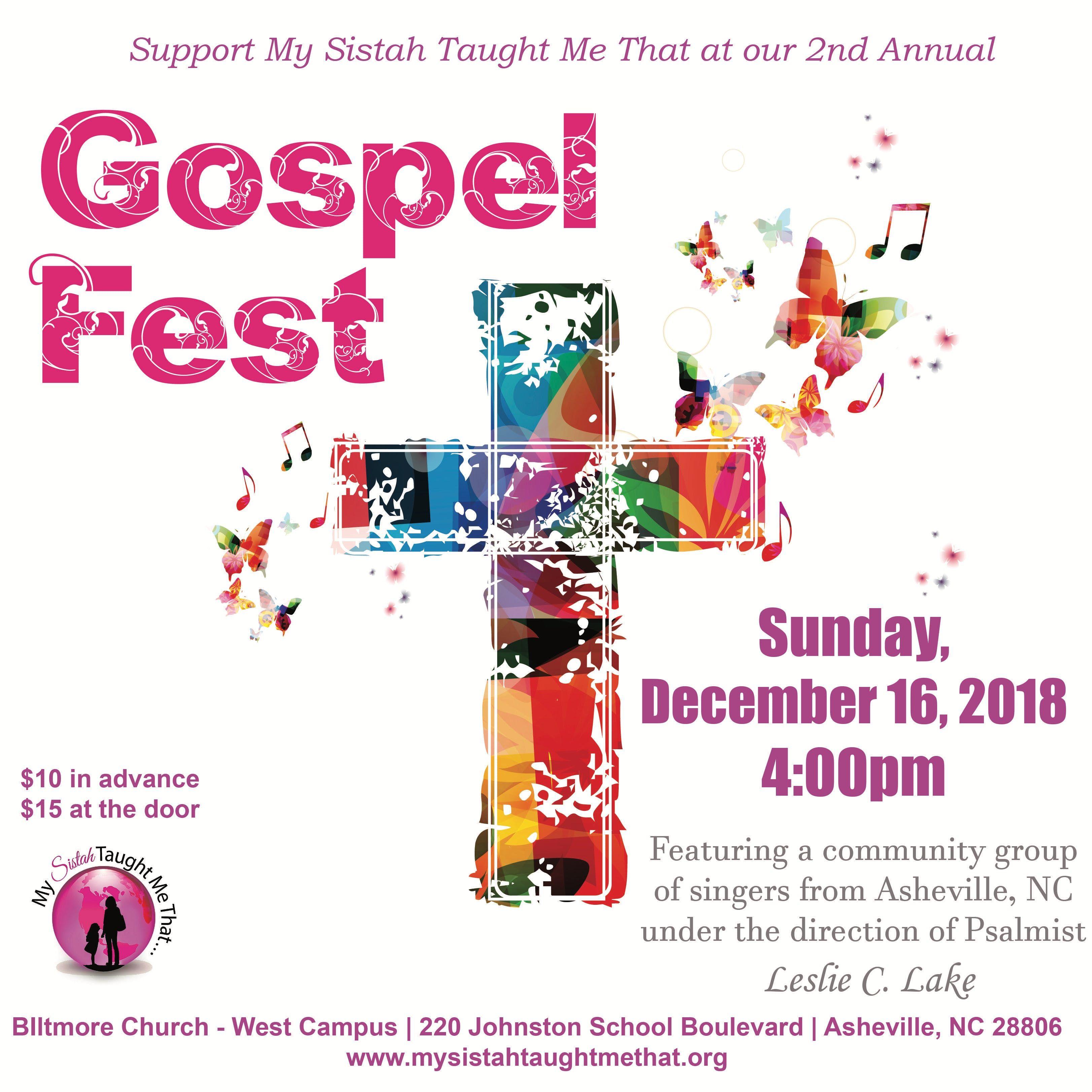 2018 MSTMT Gospel Fest