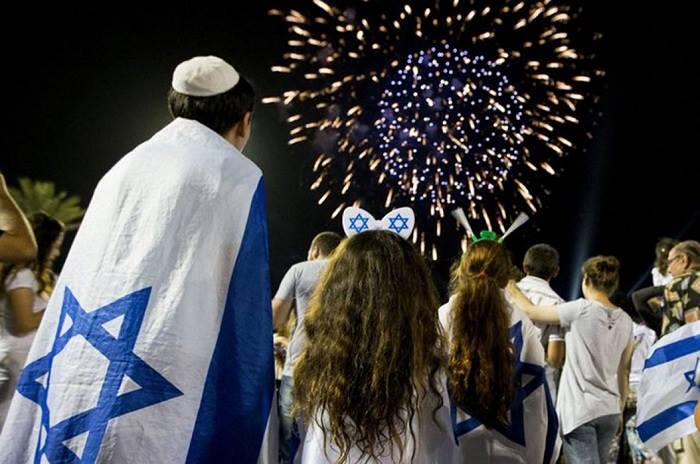 Celebrating Israels 70th Independence Day at Talias Steakhouse