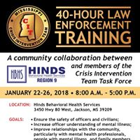 Crisis Intervention Team Law Enforcement Training