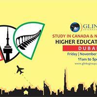 Higher Education Fair at Dubai UAE for Canada &amp New Zealand