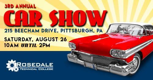 Rosedale Tech Car Show Pittsburgh - Car show pittsburgh pa
