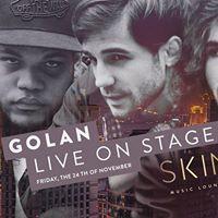 GOLAN live on stage
