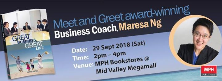 Meet And Greet Award Winning Business Coach Maresa Ng At Mph