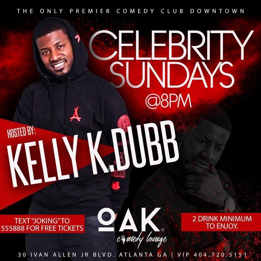 K DUBB at OAK Atlanta Comedy Live for Celebrity Sundays