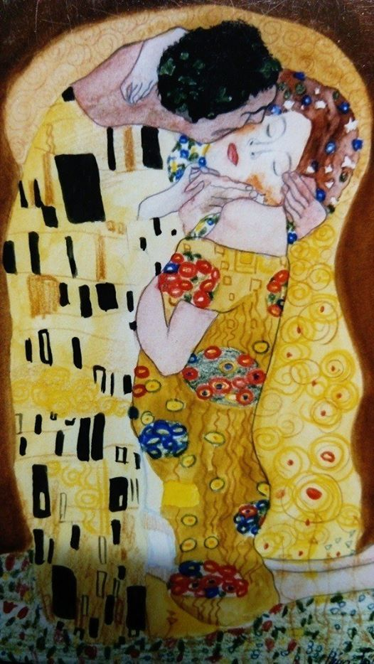 ArtNight ArtNight Pro Paint Like Klimt  Der Kuss am 2708201