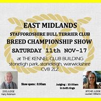 East Midlands Staffordshire Bull Terrier Club Championship Show
