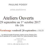 Vernissage  Pauline Poissy  Nmes