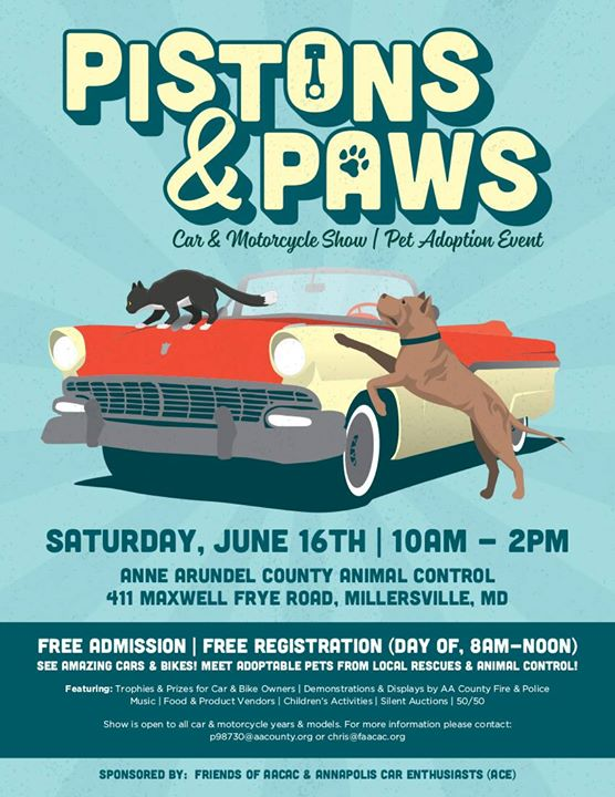 Pistons And Paws Car Motorcycle Show At Maxwell Frye Rd - Piston car show trophies