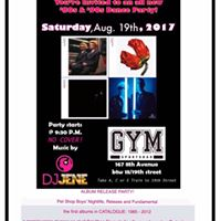 80s and 90s Dance Party Sat. August 19th GymBar