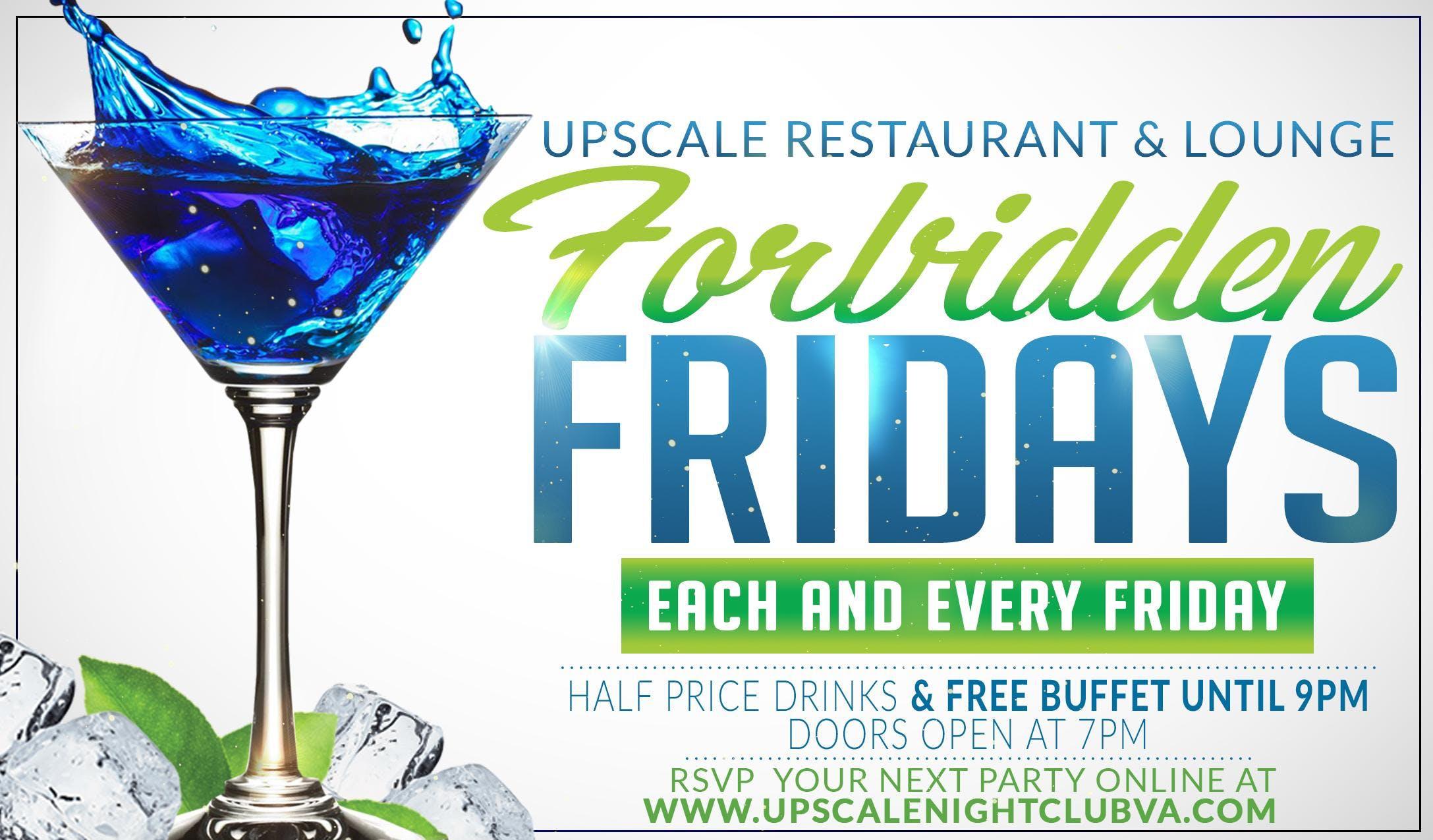 Forbidden Fridays at Upscale Restaurant & Lounge, Virginia Beach