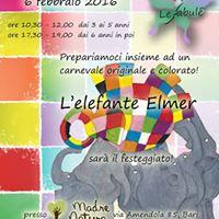 Carnevale con Elmer lelefante